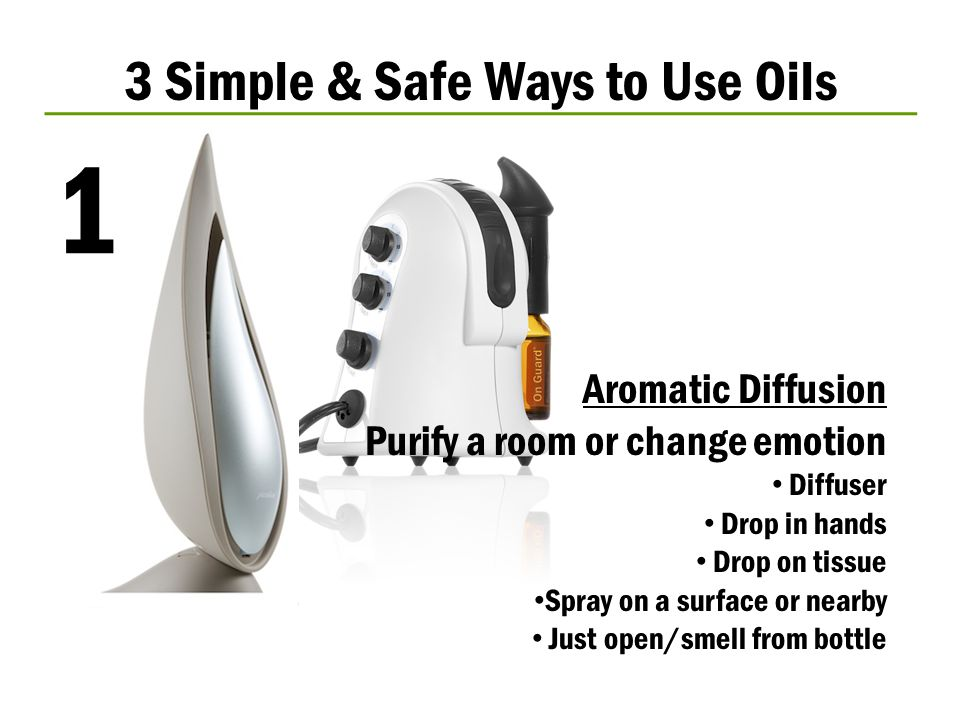 3 Simple & Safe Ways to Use Oils