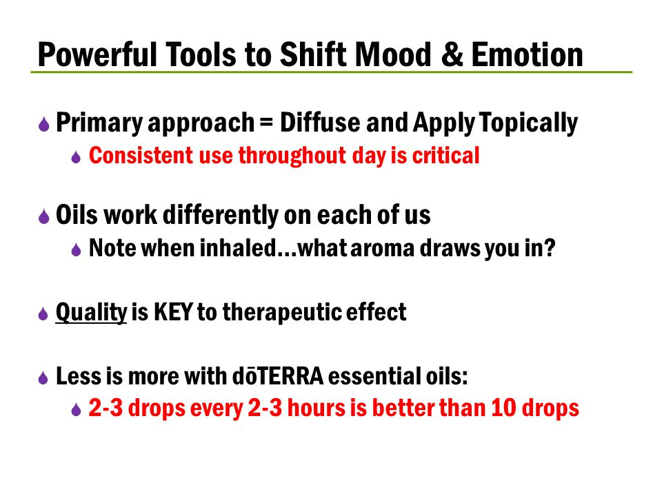 Powerful Tools to Shift Mood & Emotion