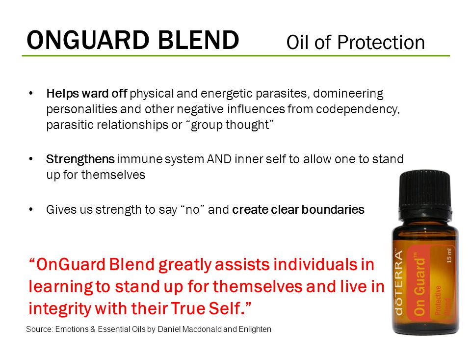 ONGUARD BLEND Oil of Protection