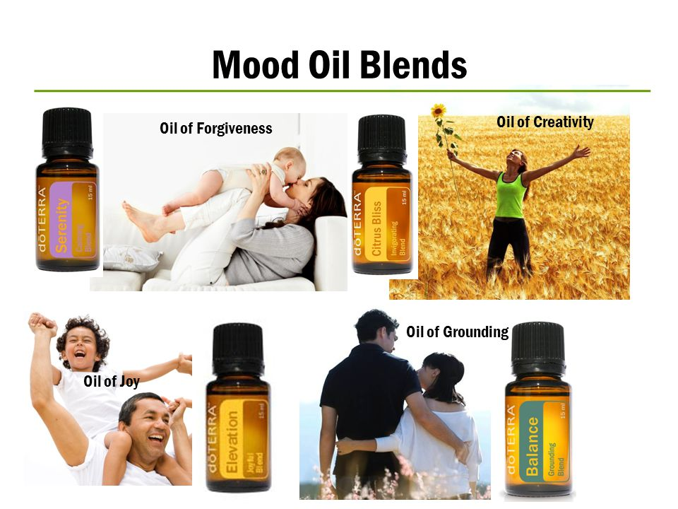 Mood Oil Blends Oil of Creativity Oil of Forgiveness Oil of Grounding