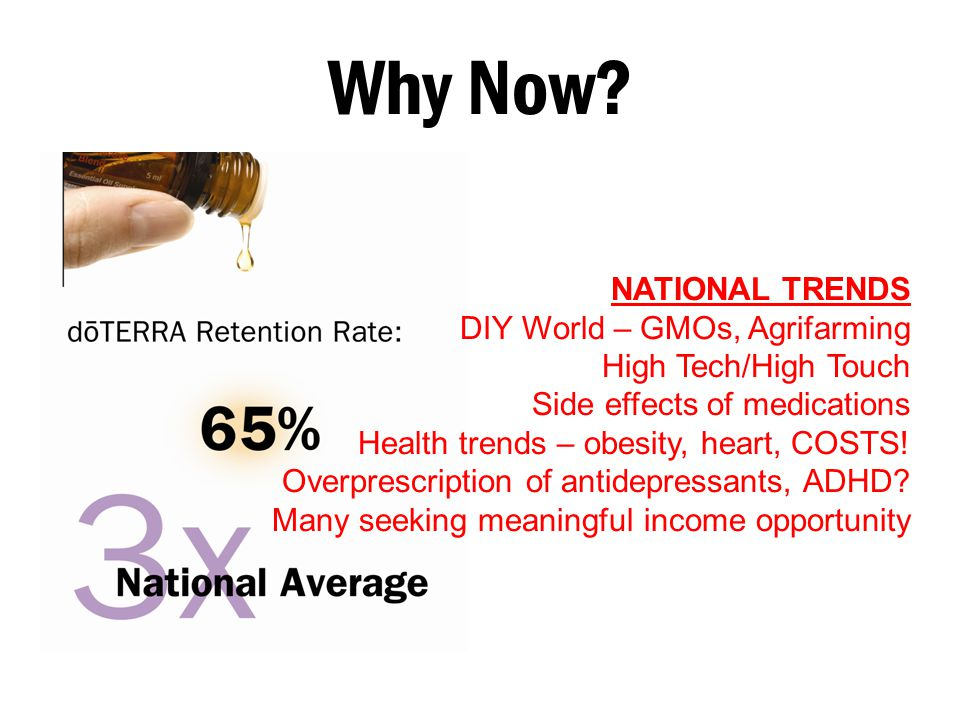 Why Now NATIONAL TRENDS DIY World – GMOs, Agrifarming