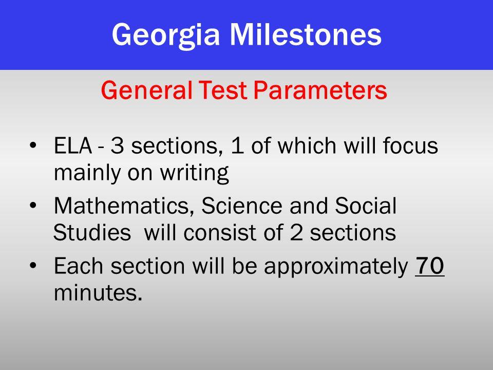 General Test Parameters