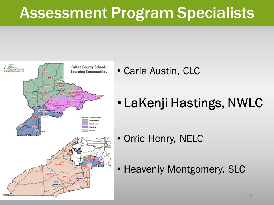 Assessment Program Specialists
