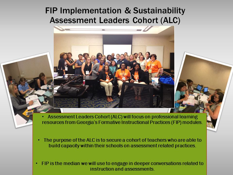 FIP Implementation & Sustainability Assessment Leaders Cohort (ALC)