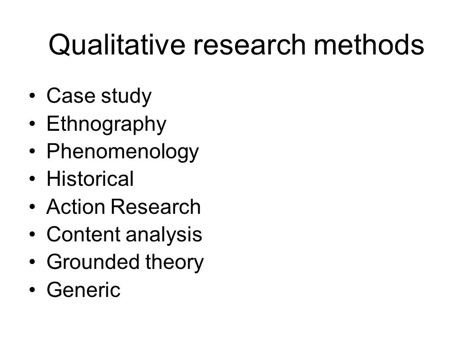 research methodology case study
