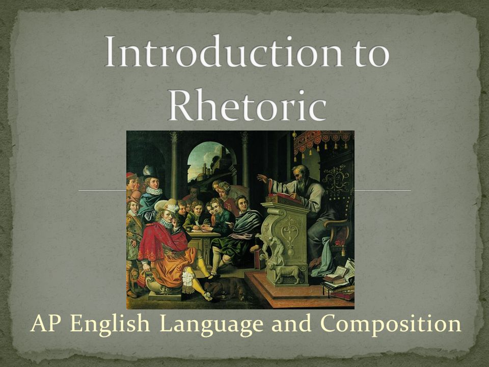 introduction to rhetoric Start studying an introduction to rhetoric learn vocabulary, terms, and more with flashcards, games, and other study tools.