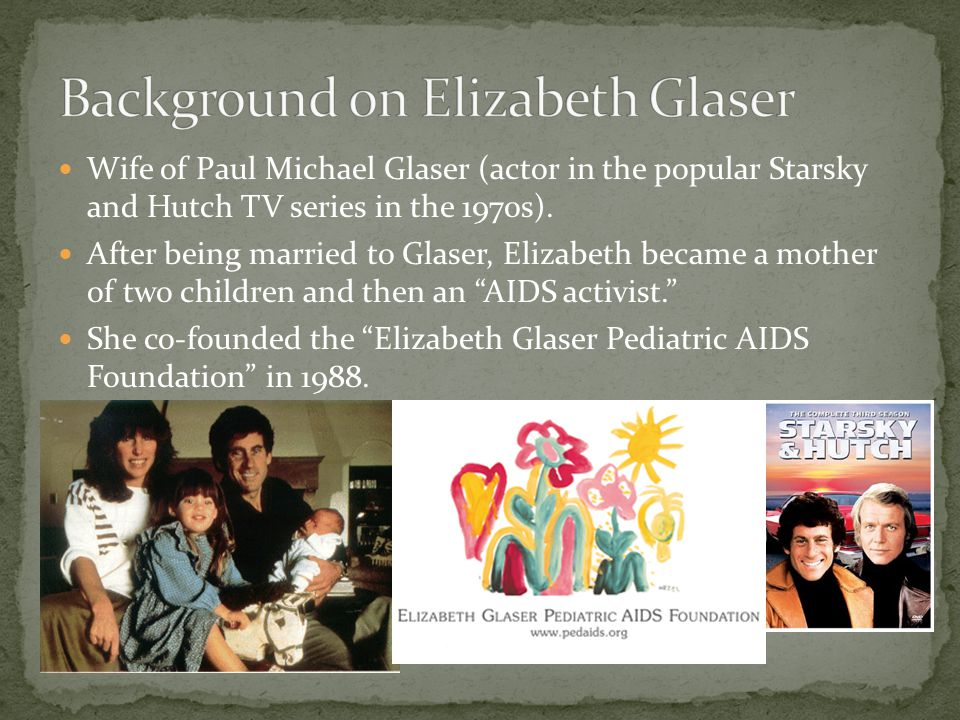 Background on Elizabeth Glaser