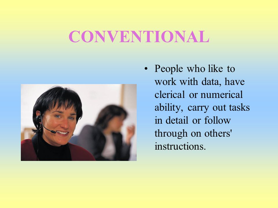 CONVENTIONAL