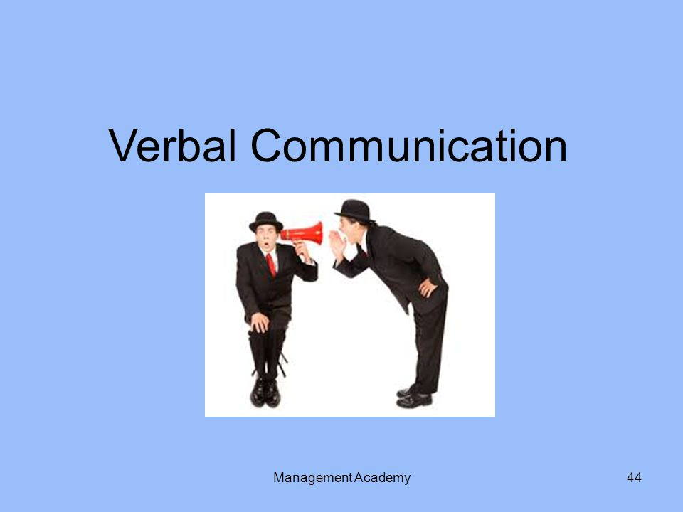 Verbal Communication Management Academy