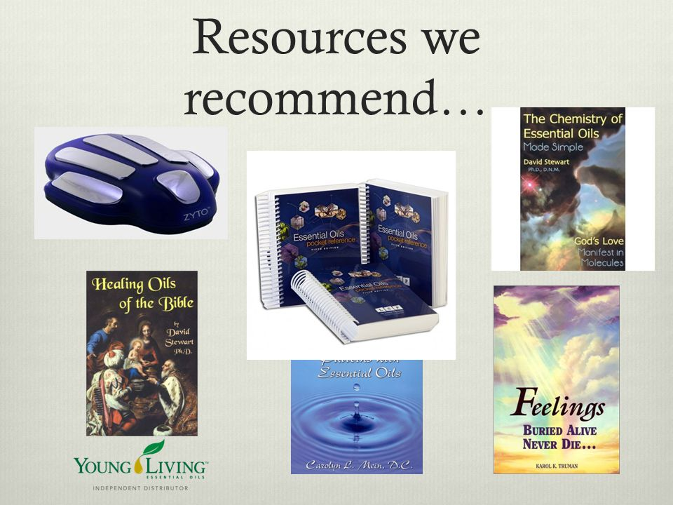 Resources we recommend…