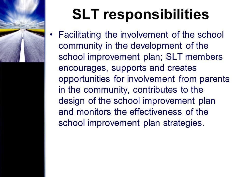 SLT responsibilities