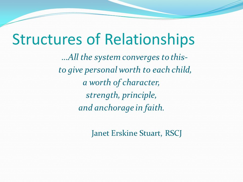 Structures of Relationships