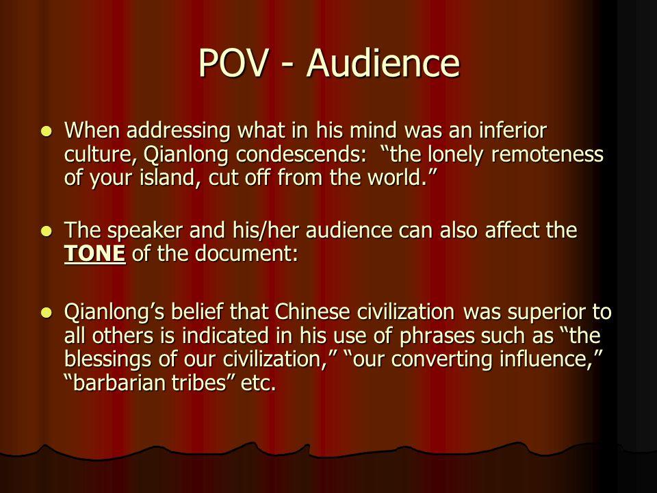 POV - Audience