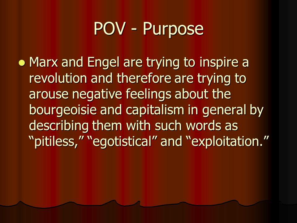 POV - Purpose