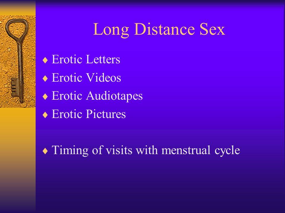 Long Distance Sex Erotic Letters Erotic Videos Erotic Audiotapes