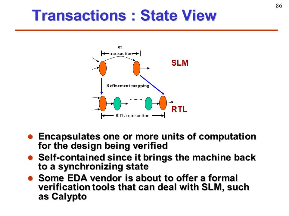 Transactions : State View
