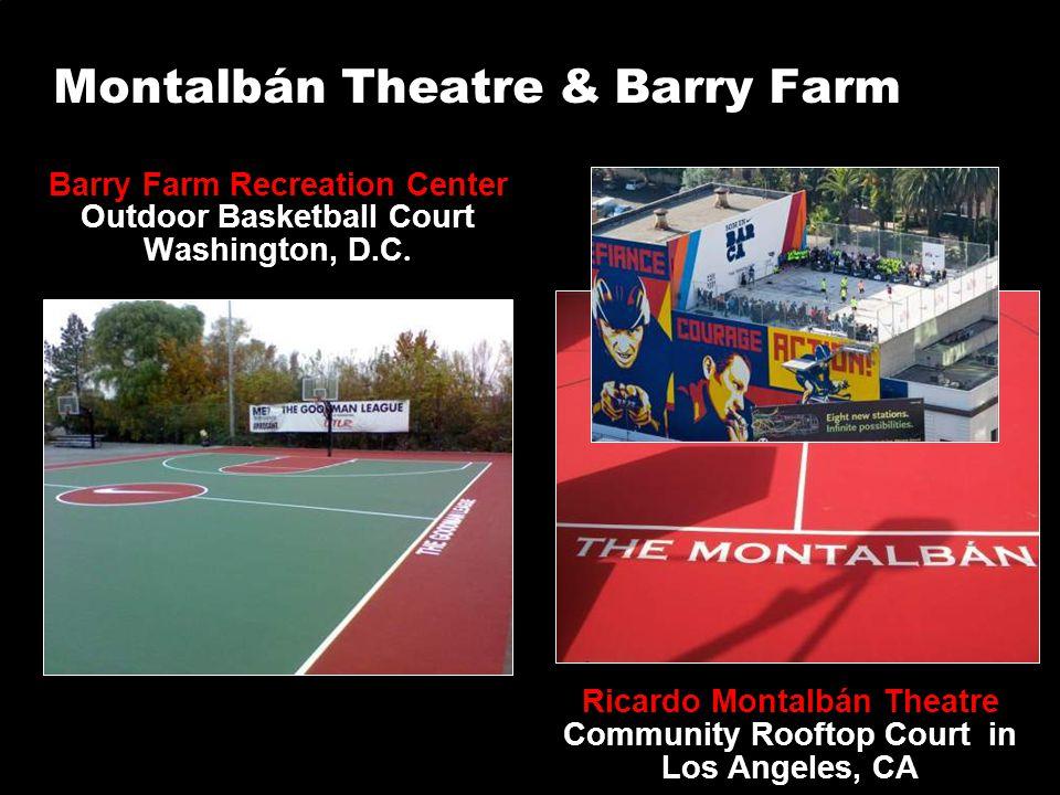 Montalbán Theatre & Barry Farm