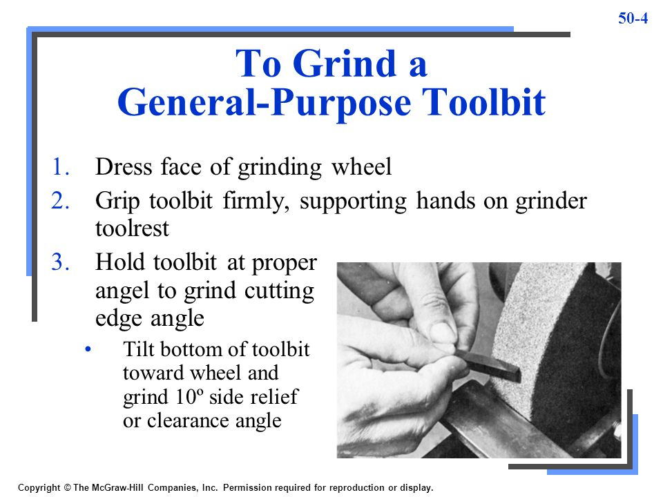To Grind a General-Purpose Toolbit