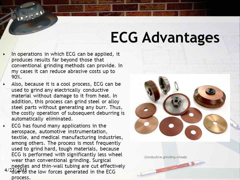 ECG Advantages