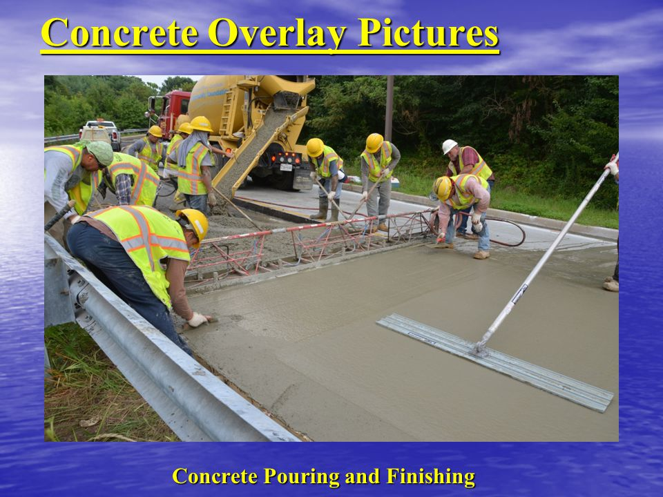 Concrete Overlay Pictures
