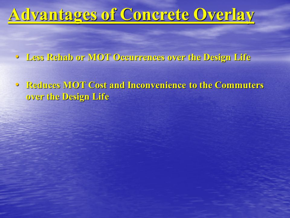 Advantages of Concrete Overlay