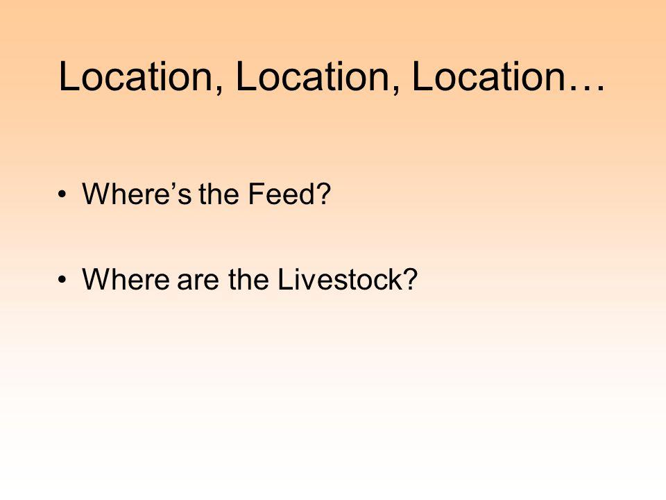 Location, Location, Location…