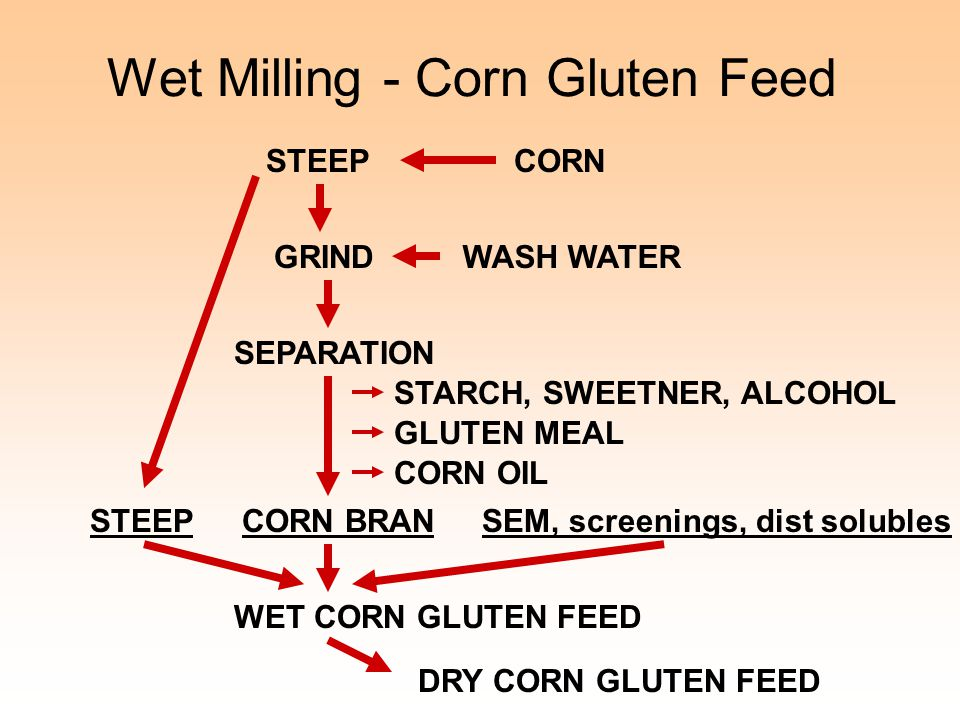 Wet Milling - Corn Gluten Feed