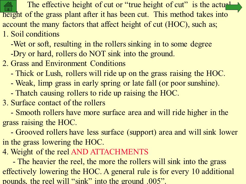 2. Grass and Environment Conditions