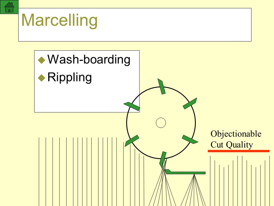 Marcelling Wash-boarding Rippling Objectionable Cut Quality 24 NOV 97