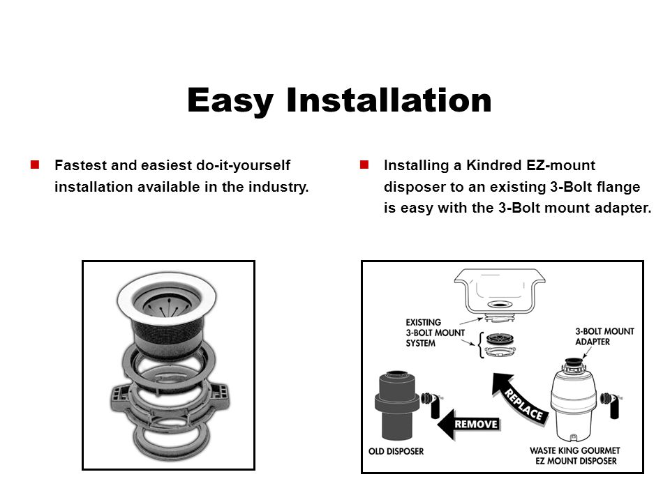 Easy Installation Fastest and easiest do-it-yourself installation available in the industry.