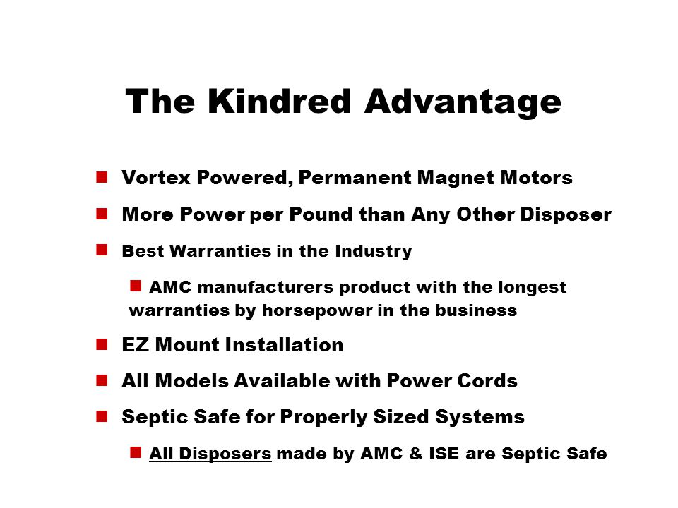 The Kindred Advantage Vortex Powered, Permanent Magnet Motors