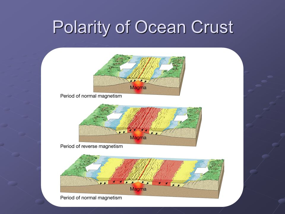 Polarity of Ocean Crust