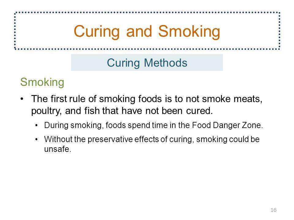 Curing and Smoking Curing Methods Smoking