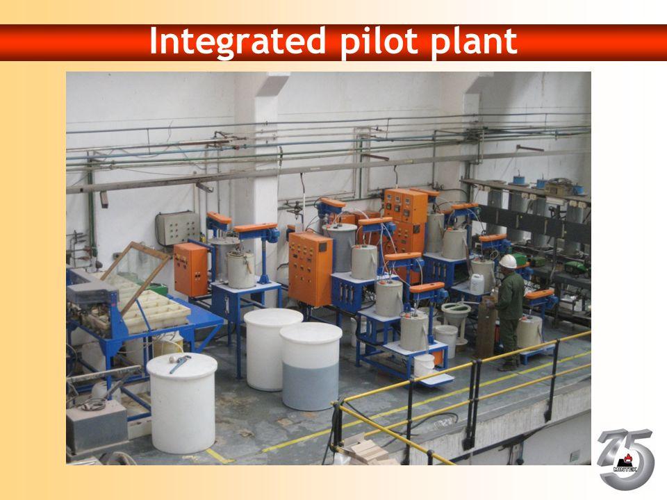 Integrated pilot plant