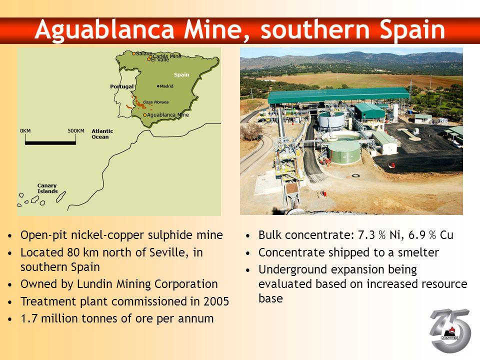 Aguablanca Mine, southern Spain