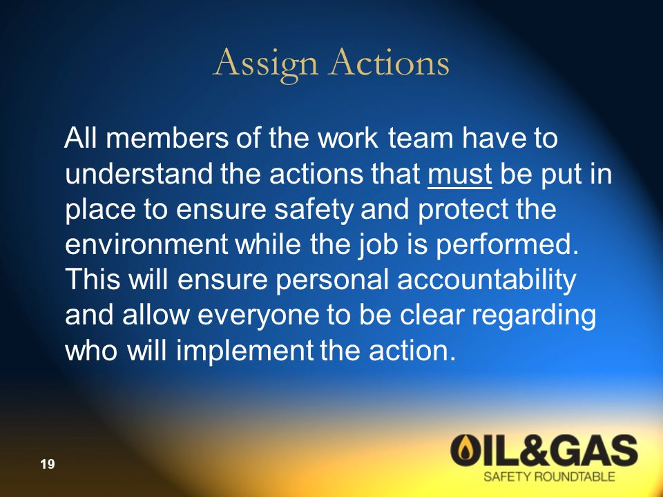 Assign Actions