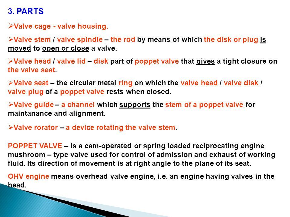 Valve cage - valve housing.