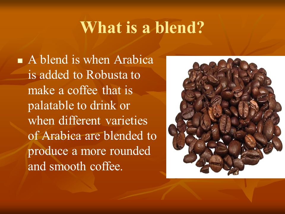 What is a blend
