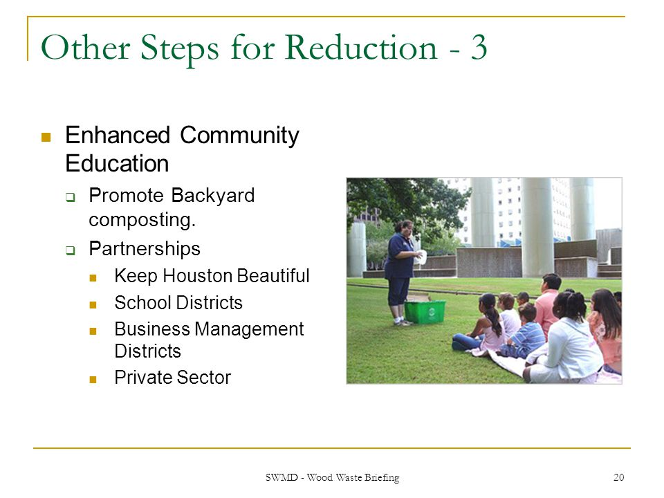 Other Steps for Reduction - 3
