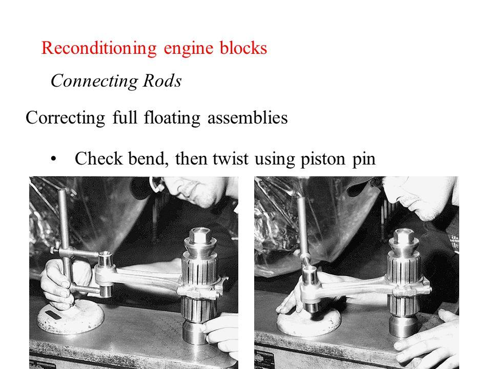 Reconditioning engine blocks