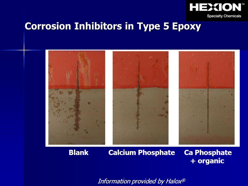 Corrosion Inhibitors in Type 5 Epoxy