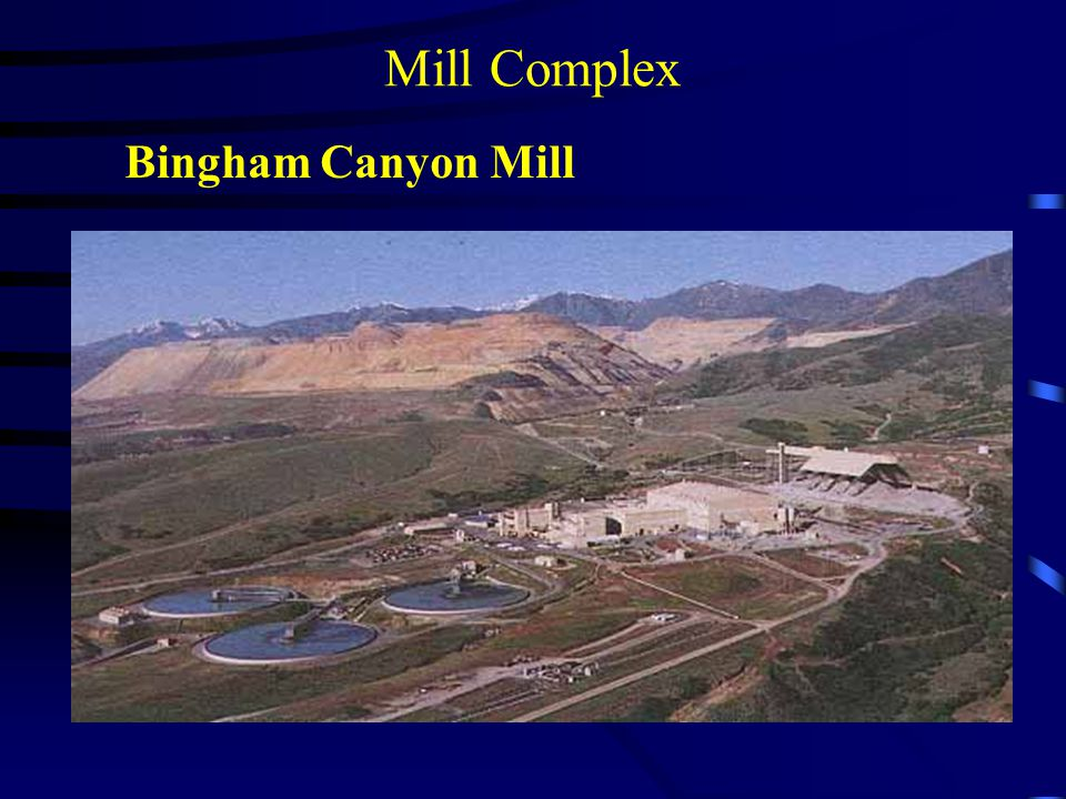 Mill Complex Bingham Canyon Mill