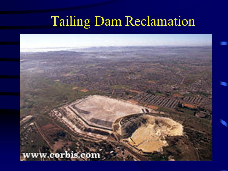 Tailing Dam Reclamation