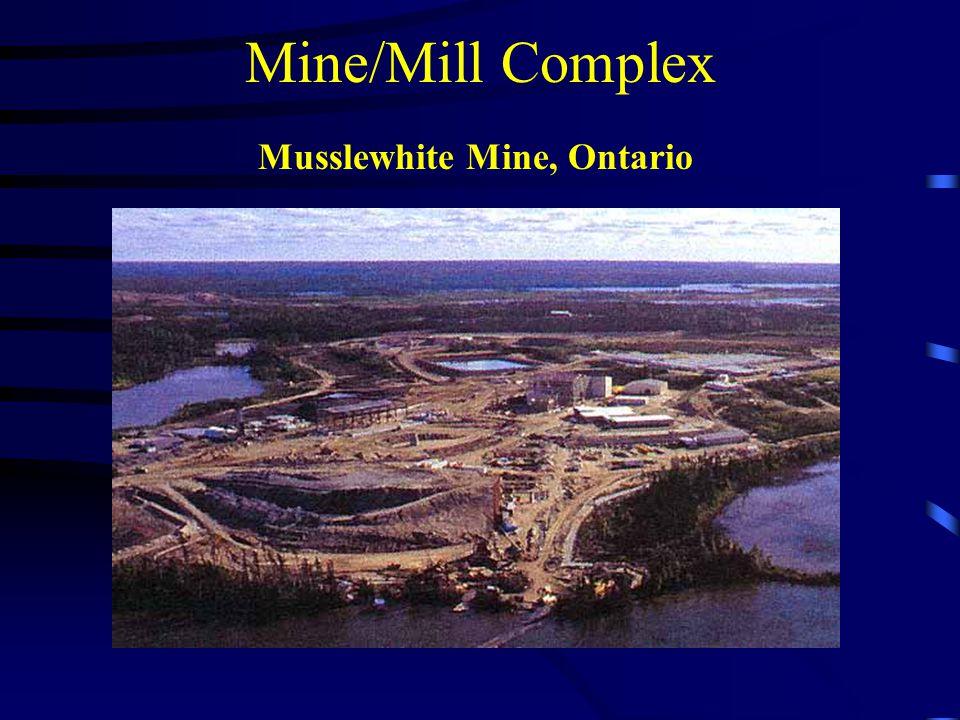 Mine/Mill Complex Musslewhite Mine, Ontario