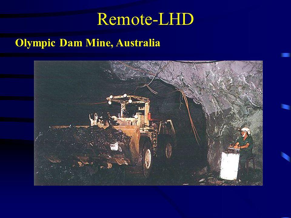 Remote-LHD Olympic Dam Mine, Australia