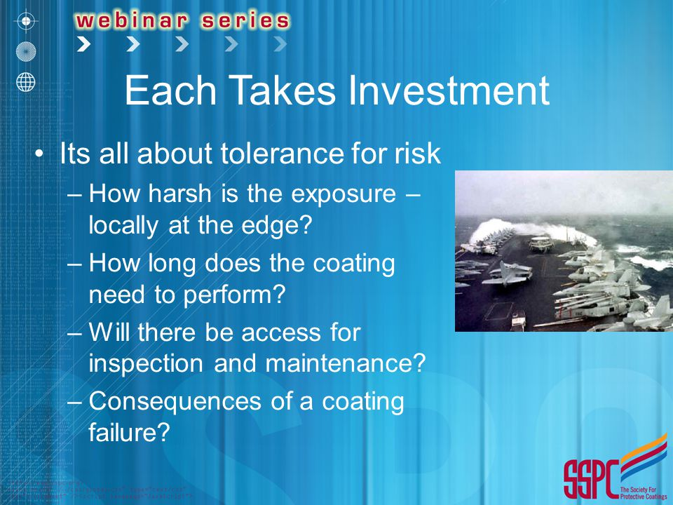 Each Takes Investment Its all about tolerance for risk