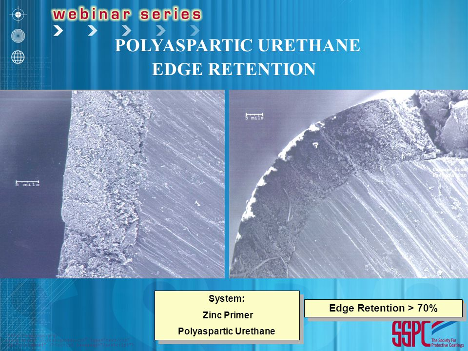 POLYASPARTIC URETHANE EDGE RETENTION