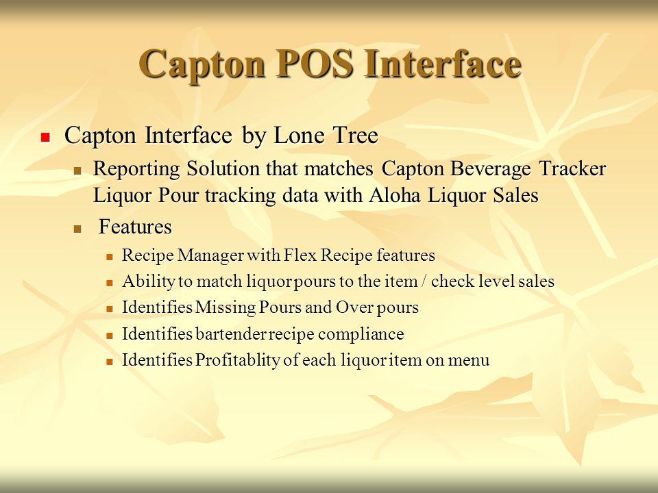 Capton POS Interface Capton Interface by Lone Tree