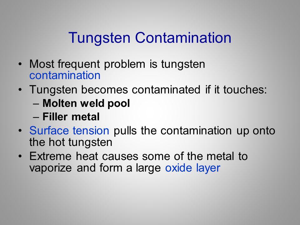Tungsten Contamination