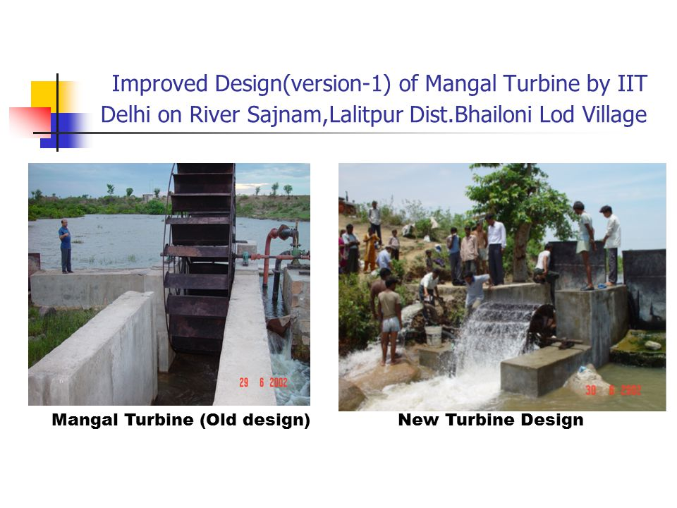 Mangal Turbine (Old design)